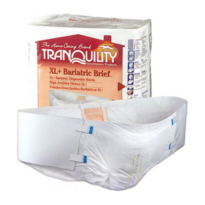 TRANQUILITY XL + BARIATRIC DISPOSABLE BRIEFS