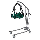 LOW HYDRAULIC STANDARD PATIENT LIFT WITH SIX POINT CRADLE