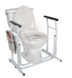STAND ALONE TOILET SAFETY RAIL DRIVE ME DICAL