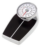 MEDICAL FLOOR SCALE RAISED DIAL 400 LBS