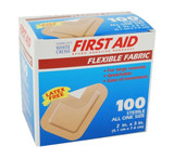 FLEXIBLE ADHESIVE FABRIC BANDAGES PATCH