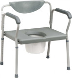 DRIVE MEDICAL DELUXE BARIATRIC ASSEMBLED COMMODE