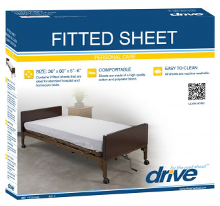 Superior DRIVE MEDICAL FITTED BED SHEETS FOR HOSPITAL BEDS