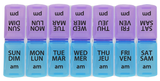 PILL ORGANIZER 7 DAY W/ AM AND PM C OMPARTMENTS