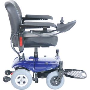 Cobalt X23 Standard Rear Wheel Power Wheelchair Red - 2