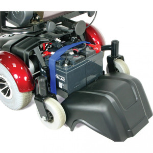 "Image 18"" Standard Mid Wheel Power Wheelchair - 2"