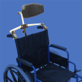 Folding Headrest For Wheelchairs - 1