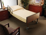 MEDLINE VINYL INNERSPRING HOSPITAL BED MATTRESS