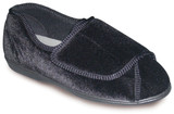 TENDER TOOTSIES LADIES ULTIMATE COMFORT SLIPPER BLACK