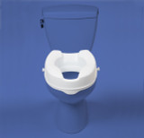 "MOBB 4"" RAISED TOILET SEAT"