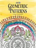 ADULT COLOURING BOOK GEOMETRIC PATTERNS