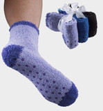 3 PAIR NON SKID SLIPPER SOCKS