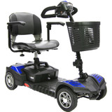 DRIVE MEDICAL SPITFIRE SCOUT DLX 4 WHEEL COMPACT SCOOTER