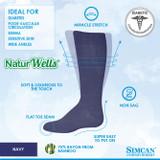 SIMCAN NUTURWELLS DIABETIC SOCKS FOR SENSITIVE FEET