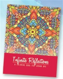 ADULT COLOURING BOOK INFINITE REFLECTIONS