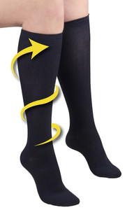 FULL FREEDOM COMPRESSION SOCKS BLACK 14 20 MMHG