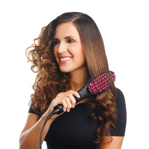 SIMPLY STRAIGHT 2 IN 1 HAIR STRAIGHTENER AND BRUSH