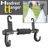 VEHICLE HEADREST HANGER ORGANIZER