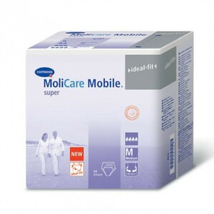 MOLICARE MOBILE SUPER PROTECTIVE UNDERWEAR X LARGE