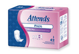 ATTENDS BLADDER CONTROL PADS LIGHT ULTRA PLUS BY CASE