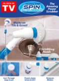 HURRICANE SPIN SCRUBBER AS SEEN ON TV