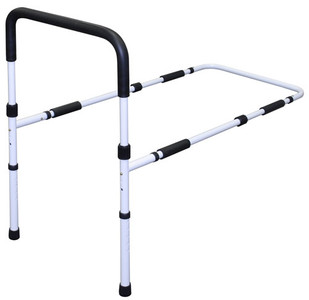 ADJUSTABLE HEIGHT BED RAIL