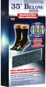 35 BELOW HOT SOCKS