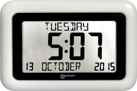 GEEMARC LARGE DISPLAY DIGITAL CLOCK