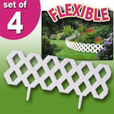 FLEXIBLE INTERLOCKING GARDEN BORDERS