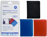 RFID PASSPORT COVER ASSOR. COLOUR
