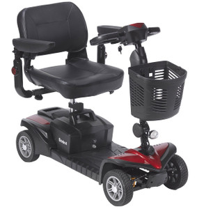 DRIVE MEDICAL SPITFIRE DST 4 WHEEL TRAVEL SCOOTER