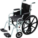 DRIVE MEDICAL POLY FLY LIGHTWEIGHT WHEELCHAIR
