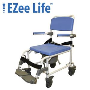 """EZEE LIFE 15"""" ALUMINUM REHAB COMMODE"""