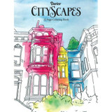 ADULT COLOURING BOOK CITY SCAPES