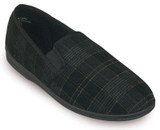 TENDER TOOTSIE MENS TWIN GORE CLOSED BACK SLIPPER 12