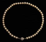 PINK PEARL NECKLACE (PN03PK)
