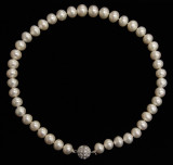 WHITE PEARL NECKLACE (PN04WH)