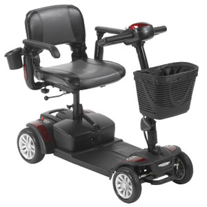 DRIVE MEDICAL SPITFIRE EX2 4 WHEEL TRAVEL SCOOTER WITH 12AH BATTERY