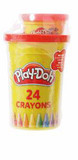 PLAY DOH GIFT SET WITH 24 CRAYONS
