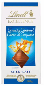 Buy Lindt Excellence Crunchy Caramel Milk Chocolate Bars 100g