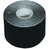 KINESIOLOGY COTTON TAPE ROLL BLACK