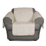 SURE FIT QUICK COVER CHAIR SLIPCOVER BONE