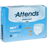 ATTENDS ADVANCED UNDERWEAR LARGE BAG