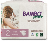 BAMBO NATURE BABY DIAPERS SIZE 2