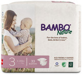BAMBO NATURE BABY DIAPERS SIZE 3
