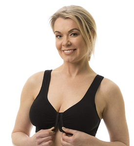 FULL FREEDOM COTTON BRA BLACK