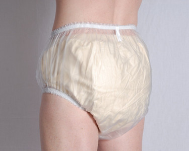PLASTIC PANTS FROSTED M (AC4617)