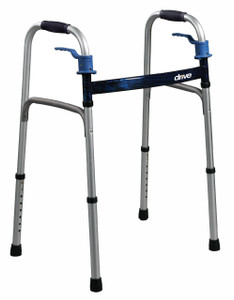 DELUXE TRIGGER RELEASE FOLDING WALKER ADULT DRIVE (AC6132)