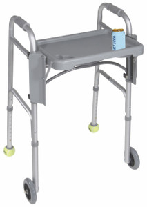 DRIVE MEDICAL FOLDING WALKER TRAY (AC6136)