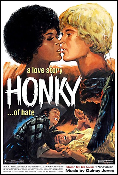 "Honky DVD 1971 ""A love story... of hate"", stars Brenda ..."